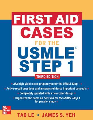 First Aid Cases for the USMLE Step 1 By Tao, Le